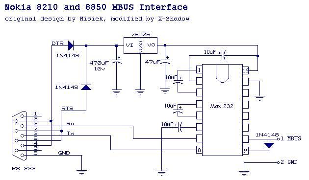 Схема кабеля 1680c. А на самом
